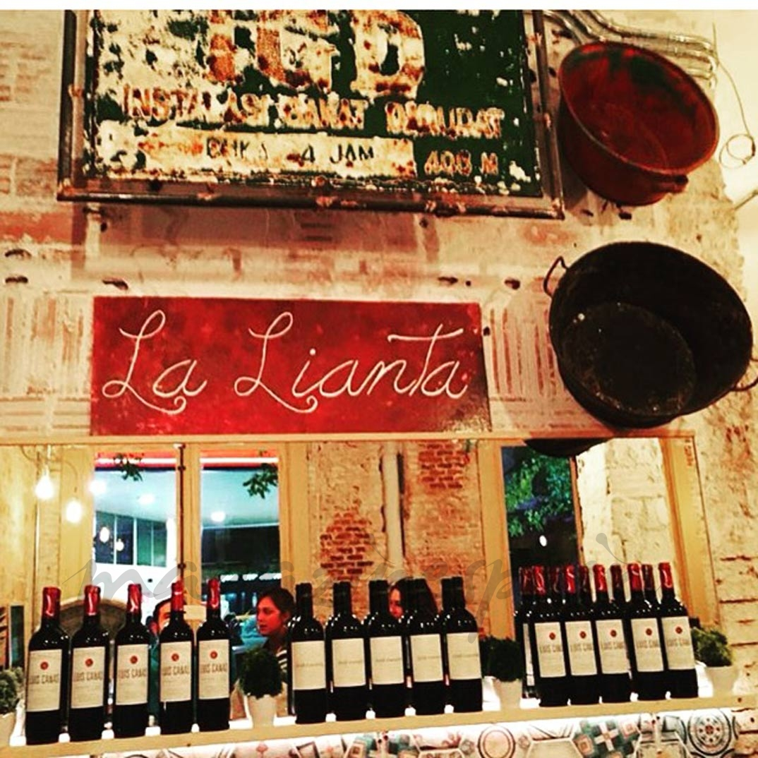 Restaurant La Lianta in Madrid