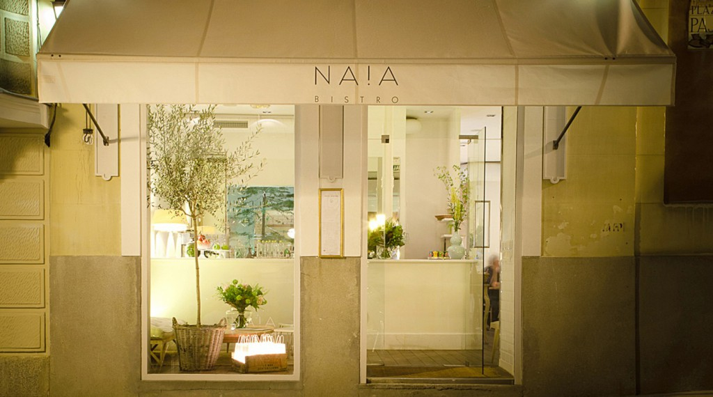 Restaurant Naia Bistro in Madrid