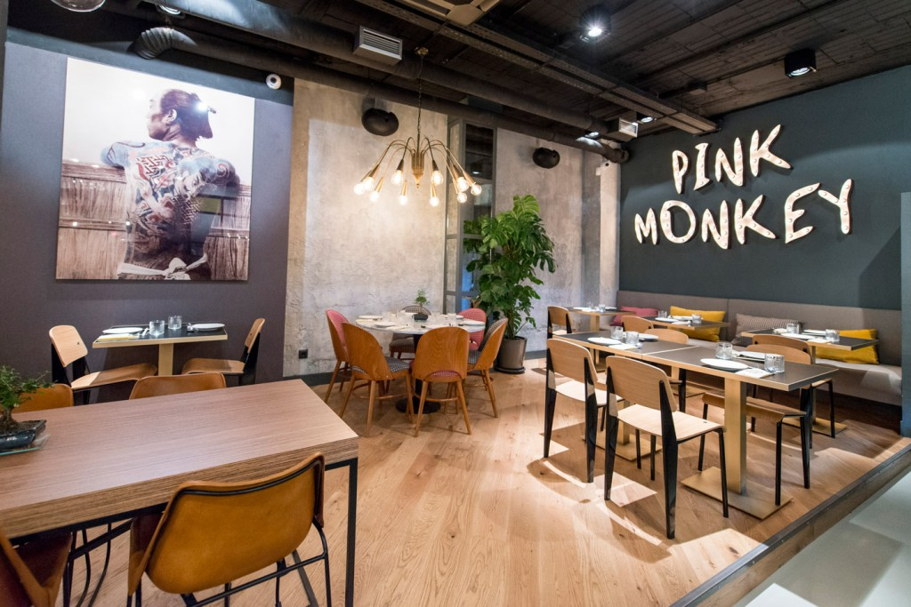 Restaurant Pink Monkey in Madrid