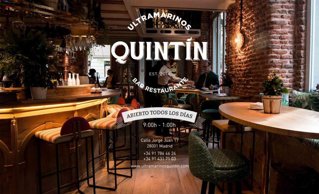 Restaurant Ultramarinos Quintin in Madrid