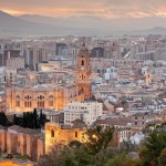 Malaga shopping in Spain