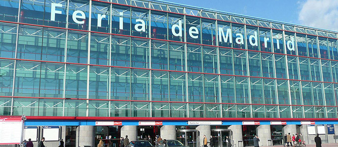 Airport in Madrid