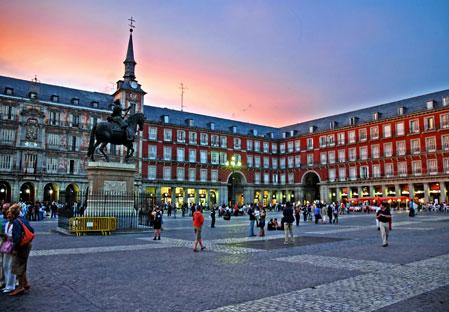 District Austrias in Madrid