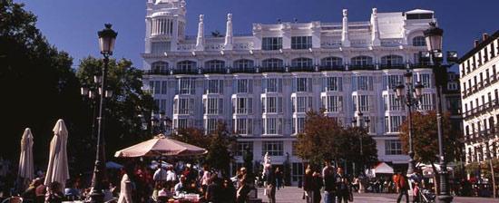 District Barrio de Las Letras in Madrid