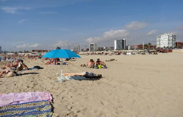 La Nova Mar Bella beach in Barcelona