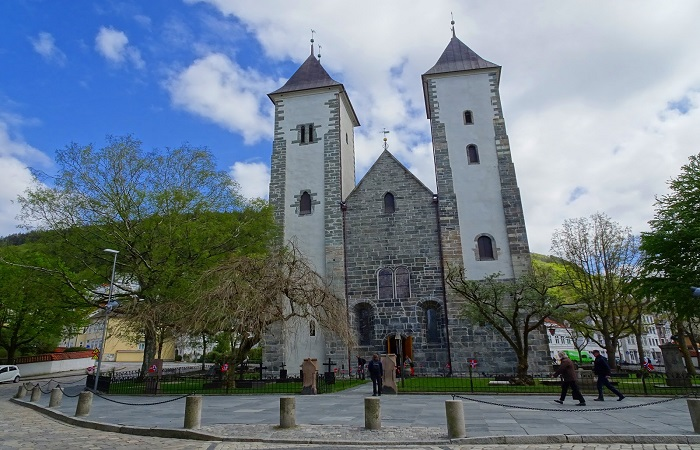 Cathedral of San Olaf in Bergen