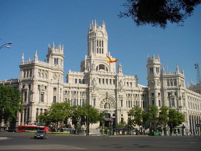 District Castellana in Madrid