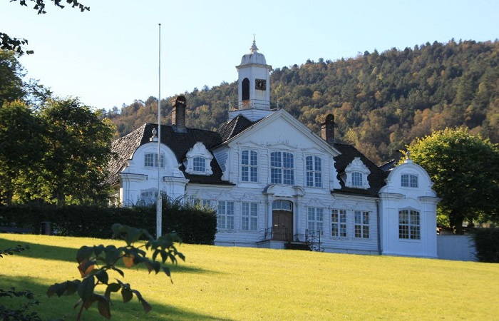 Damsgård Manor Museum in Bergen