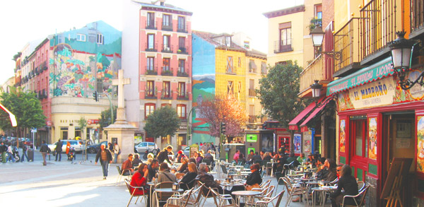 District La Latina in Madrid