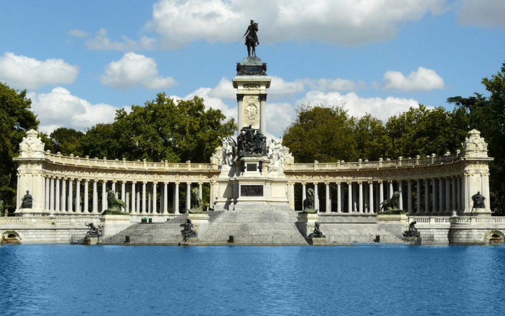 District Retiro in Madrid