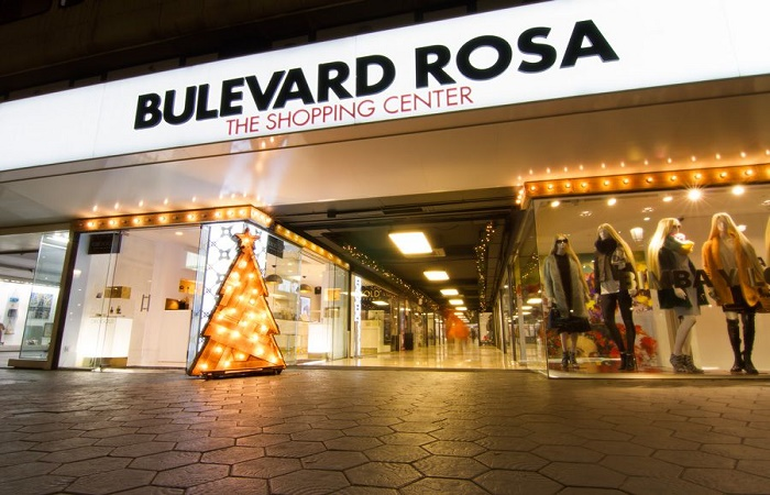 Boulevard Rosa shopping center in Barcelona