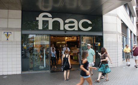 FNAC shopping center in Barcelona
