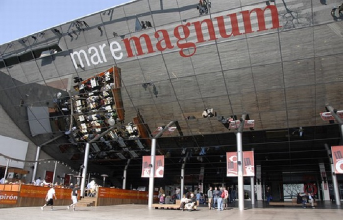 Maremagnum shopping center in Barcelona