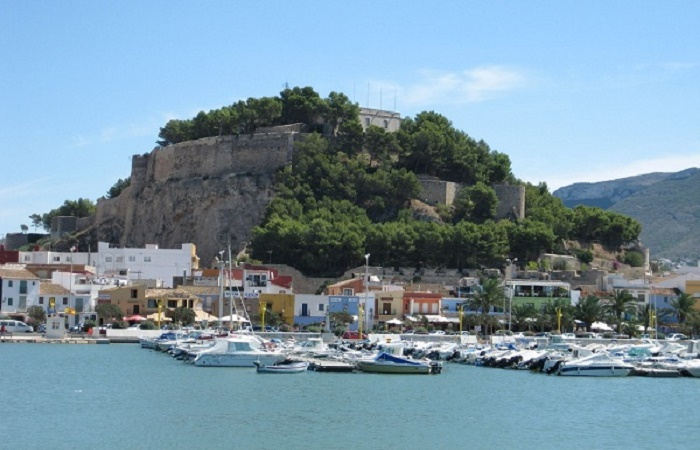 The Castle in Denia