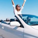 Convertible car hire Albir