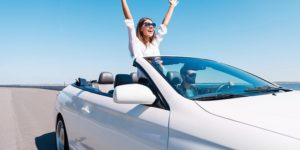 Convertible car hire at Valencia Airport