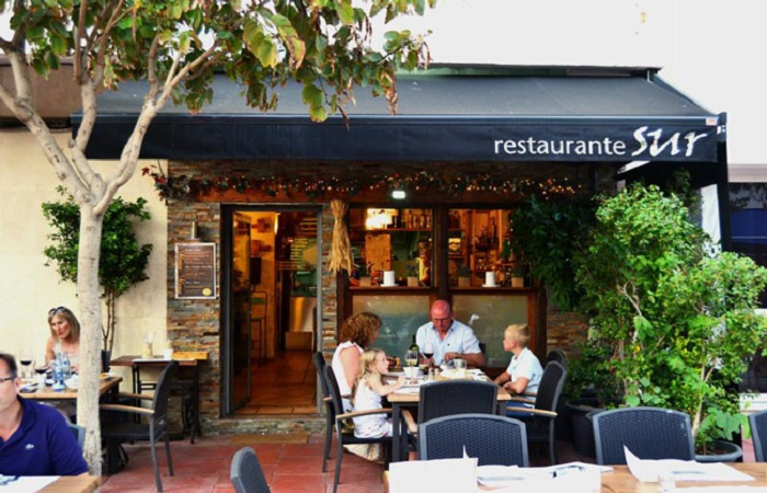 Restaurant Sur in Estepona