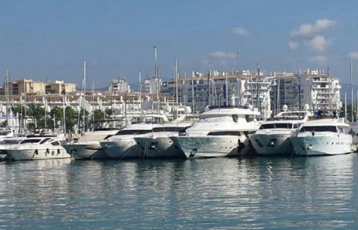 Harbour of Estepona