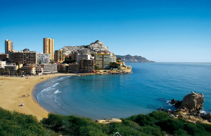 Playa Finestrat in Benidorm