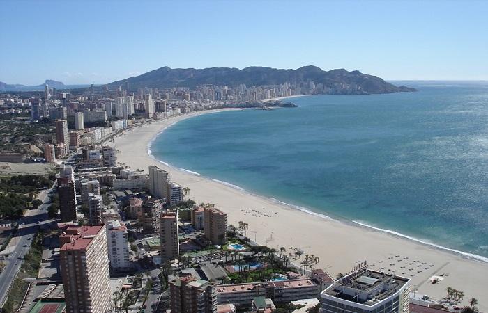 Playa Poniente Benidorm