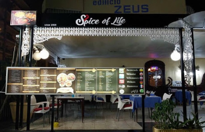Restaurant Spice of Life in Benidorm